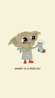 Dobby ıs a free elf wallpaper