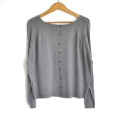 Chaqueta-jersey gris