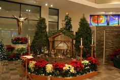 2016 Christmas indoor Nativity
