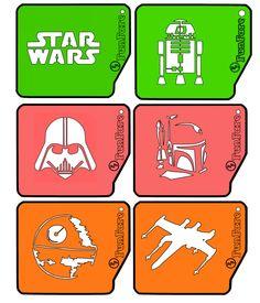 A personal favorite from my Etsy shop https://www.etsy.com/listing/219998715/funfare-stencil-set-6-stencils-star-wars