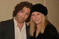 Headliner Jason Gould with mom Barbra Streisand at STOP CANCER Gala!