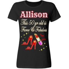 OUTRAGEOUS RED 50TH BIRTHDAY DIVA | Every fabulous 50 year old will love our chic and unique personalized T Shirts. https://www.customizedgirl.com/s/JLPBirthday #50yearsold #Happy50thbirthday #50thbirthdaygift #50thbirthdayidea #Personalized50th #Happy50th #Personalized50th