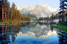 Lake Reflection, Kings Canyon National Park, CA