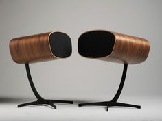 Cool looking HiFi speakers. It's about time they look as good as they sound!    http://davoneaudiousa.com/Ray