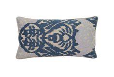 Accent Pillow-Peacock Ikat 14X26 - Signature