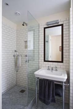 HAMPSTEAD APARTMENT No 2 contemporary-bathroom