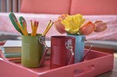 mugs originales colorees boites de conserve fourchettes Flynnside Out Productions