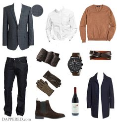 Style Scenario: The Smart Casual Holiday Party | Dappered.com