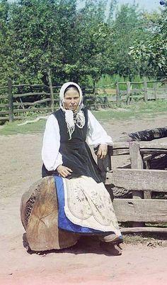 In Ukraine between 1905 and 1915. Sergei Mikhailovich Prokudin-Gorskii Collection.