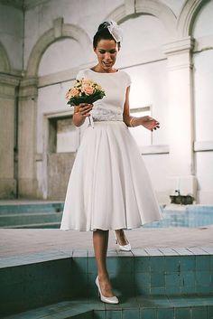 mara.zb / elegantné hodvábene svadobné šaty pre sl.A