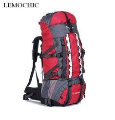 LEMOCHIC - High quality Large Capacity 100L Travel Backpack
