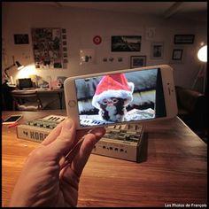 Fotógrafo francês François Dourlen usa seu iPhone para inserir personagens da cultura pop na vida real.