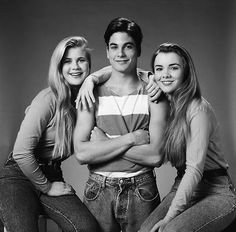 Alison Sweeney, Brian Datillo, and Christie Clark.  Hard to believe that rivalry continued through adulthood.