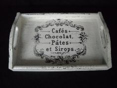 Country French Tray