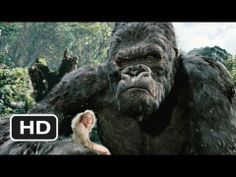King Kong (Kong Battles the T-Rexes (2005)  ~ I always had a place in my heart for the Original Kong vs T-Rex in the '33 version but Peter Jackson's 2005 version was over the top when Kong took on three. If you've never seen this film this scene alone will definitely pique your interest ! Fantastic CGI Effects and to incorporate Naomi Watts in between all of the action was amazing ! Truly a spectacle in history of Motion Pictures, and I mean BOTH Versions !