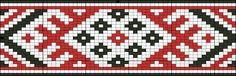 Схемы браслетов - станочное ткачество 7 (славянские орнаменты)   - Схемы для бисероплетения / Free bead patterns -