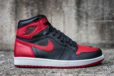 """Releasing: Air Jordan 1 Retro High OG """"Banned"""" - EU Kicks: Sneaker Magazine"""