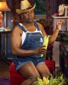 Tituss Burgess in the first season of Unbreakable Kimmy Schmidt