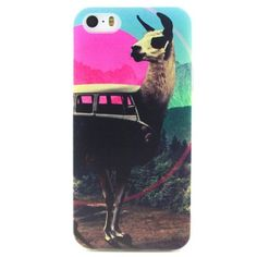 Coque iPhone SE/5/5S Colorful Goat