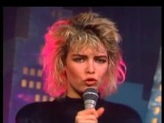 "Insanely hot Kim Wilde ""You Keep Me Hanging On"" - YouTube"