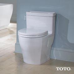 Sanitario Aimes - No hay lugar para esconder la suciedad. #toto #sanitarios #baños #interiorismo @grupotenue