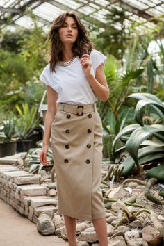 Roseville, Ready-To-Wear, Москва Cute Casual Outfits, Boho Outfits, Skirt Outfits, Winter Skirt, Two Piece Outfit, Office Outfits, Modest Fashion, Timeless Fashion, Casual Looks