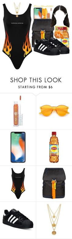 """""""Holiday in Mykonos✨💦"""" by icanthandlethis ❤ liked on Polyvore featuring My Little Pony, Heron Preston, adidas, FRUIT and Ben-Amun"""