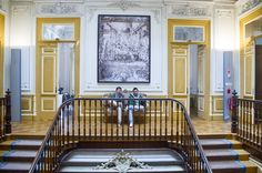 Maristas Building | Open House Porto 4—5 July'15 | Trienal de Arquitectura de Lisboa © Dóra Karácsony