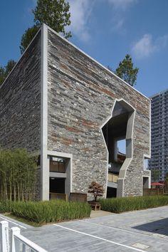 Wang Shu's Ningbo Tengtou Pavilion : 2012 Pritzker Prize