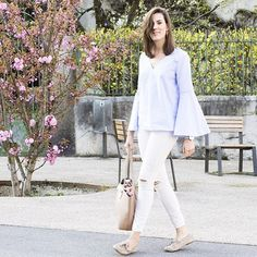 A bell sleeve top and Mocs are two of my favourite trends that I combined in one outfit in today's post. Read the article to know why...