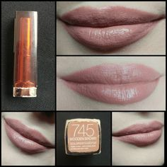 #Day33 Maybelline Color Sensational Lipstick 745 Wooden Brown