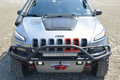 MFC Offroad is a custom fabricator of better than OEM quality suspension & electronics solutions engineered specifically for the Jeep Cherokee KL. Jeep Cherokee Bumpers, 2014 Jeep Cherokee Trailhawk, Jeep Trailhawk, Lifted Jeep Cherokee, Grand Cherokee Overland, 2014 Jeep Grand Cherokee, Lifted Jeeps, Jeep Compass Accessories, Jeep Cherokee Accessories
