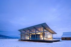 13 Projects by Olson Kundig Architects Embedded In Their Surroundings