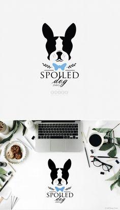 Spoiled Dog - Dog Treat Logo Design by Sniff Design Studio I #PetBusinessLogoDesign I #PetBranding I #DogLogoDesign