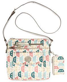 Giani Bernini Handbag, Circle Signature Crossbody Bag - All Handbags - Handbags & Accessories - Macys