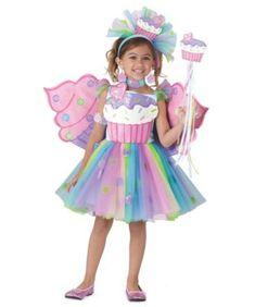 cupcake fairy girls costume