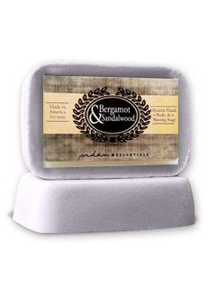 Jordan Essentials - Bergamot and Sandalwood Soap $6.00