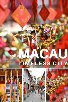 Off the beaten path -- exploring the timeless and historic city of Macau!
