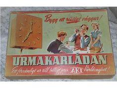 Samlarobjekt! Bästa julklappen till URsamlaren! URMAKARLÅDAN Unikt tillfälle!