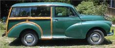 1960 Morris Minor 1000 Traveler was the car I owned when I lived in London (we had a different Morris when Peach and I traveled from Land's End to John O'Groats). I paid about $500, or whatever 350 pounds was at the time (mid 1980s). Gave this car away when I left - wished I'd kept it.