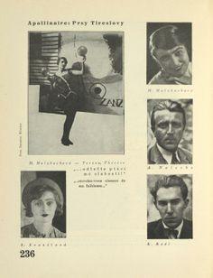 M. Holzbachová, A. Nalevka, B. Rádl, S. Svozilová.