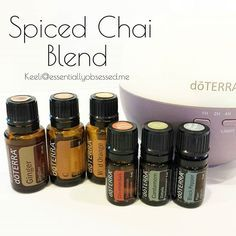 I love everything fall, so I have been playing with different combinations of oils to get that perfect warm fall aroma.  This Spiced Chai blend is really amazing.  In your diffuser add three drops Ginger, Clove and Wild Orange and add two drops each Cinnamon Bark, Cardamom and Black Pepper. Sit back and enjoy!! ☕ ◽◽◽◽◽◽◽◽◽◽◽◽◽◽ Feel free to tag any of your Fall loving friends! #doTERRA #essentialoils #oils #fallblends