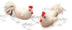 "Hen Free Knitting Pattern (Extract from ""Farmyard Knits"" by Fiona Goble)"