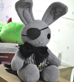 Anime Black Butler Ciel's Rabbit Toy for Children or Kids, Anime Lovers and Cosplay on Etsy, $39.99