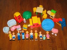 Doll Houses Little Tikes And Dolls On Pinterest