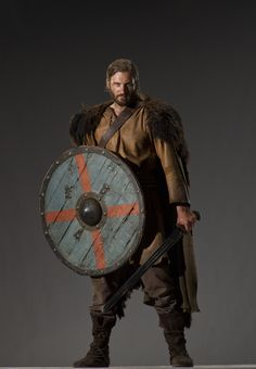 Rollo - he'd be even more gorgeous if he wasn't so evil. <--- He's still handsome :P