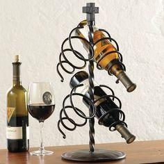 Cross Wine Bottle Holder   King Ranch