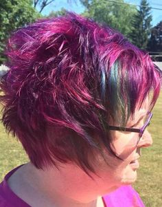 Purple Pixie For Older Ladies