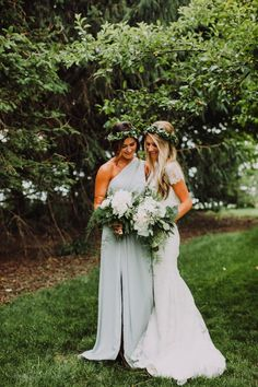 Sister wedding moments.