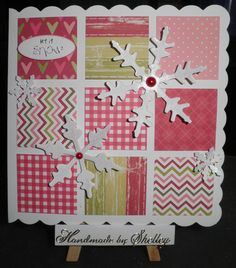 Warren Christmas and Snowflakes by Craftwork Cards. Design from Craftwork Cards.